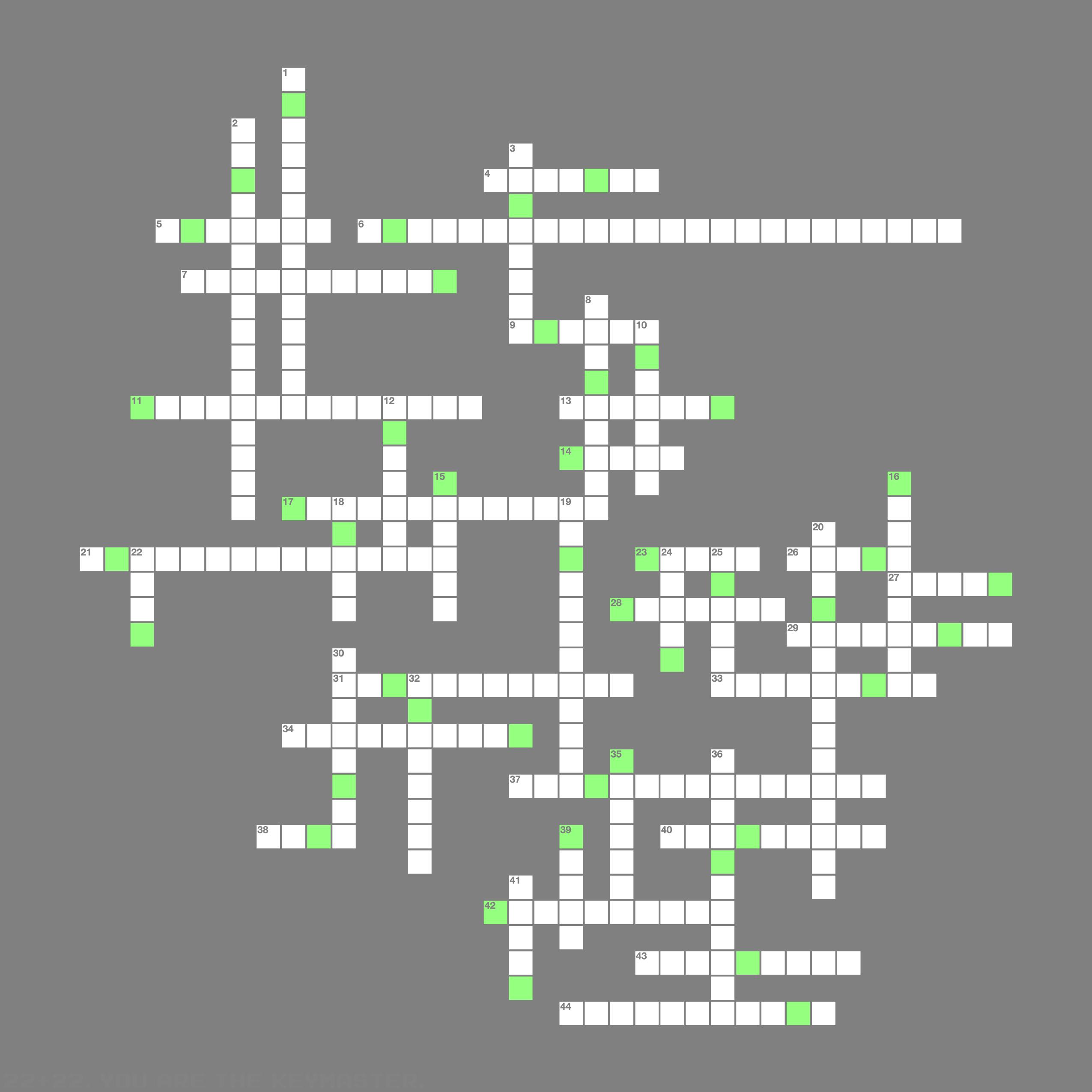The crossword on algersoft archerfx the crossword on algersoft biocorpaavc Gallery